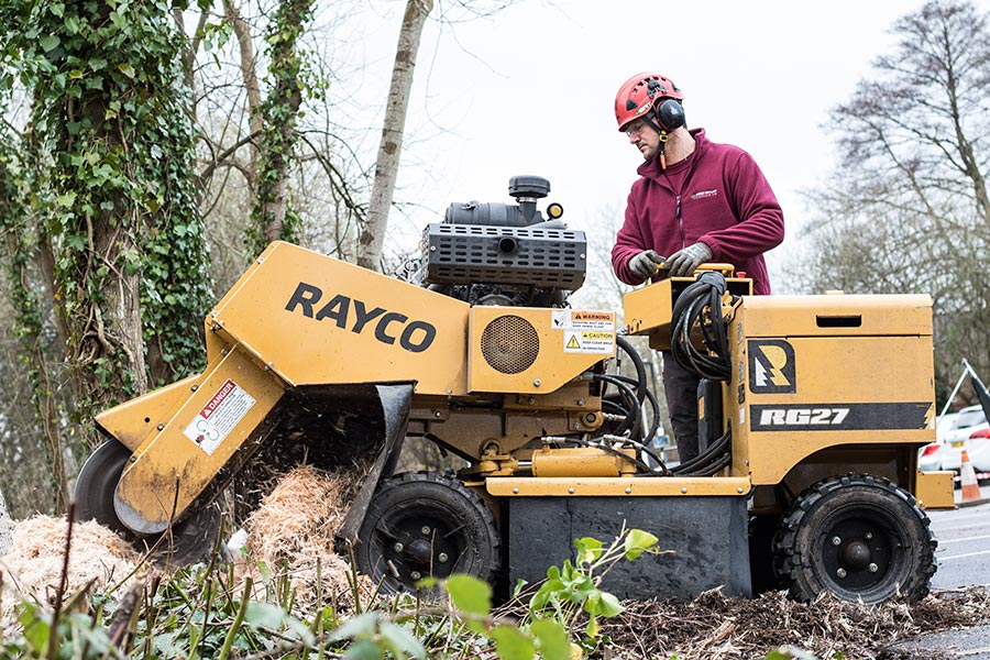 Stump Grinding Wimborne
